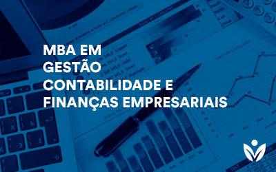 MBA em Gestão, Contabilidade e Finanças Empresariais