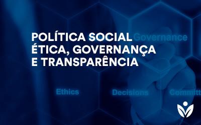 Pós-Graduação em Política Social, Ética Governança E Transparência