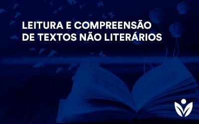 EXTENSÃO EM LEITURA E COMPREENSÃO DE TEXTOS NÃO LITERÁRIOS
